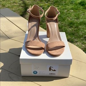 NWT A New Day Chunky Heels